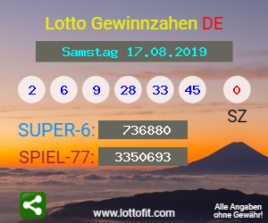Lotto Samstag Quote