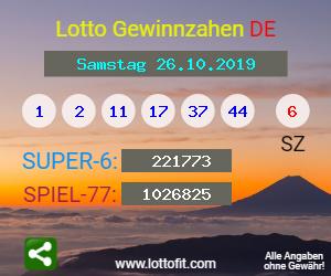 Lottozahlen 20.7 19