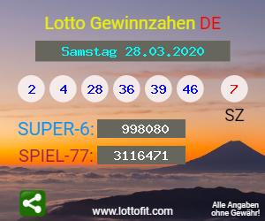 Lotto 28.03 20